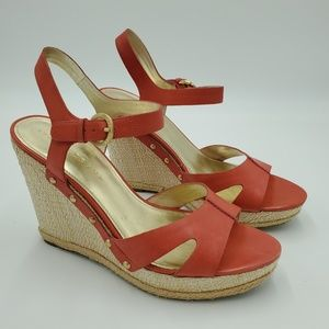 "Ivanka Trump ""Horatia"" Wedge sandals"